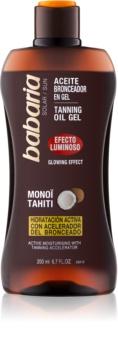 Babaria Sun Bronceadora Uppljusande gel för förbättring av solbränna