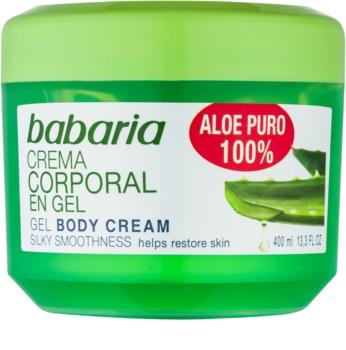 Babaria Aloe Vera gel hidratante para el cuerpo