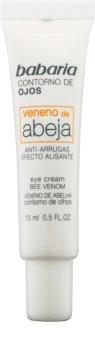 Babaria Abeja crema antiarrugas para contorno de ojos  con veneno de abejas