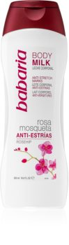 Babaria Rosa Mosqueta lait corporel intense anti-vergetures