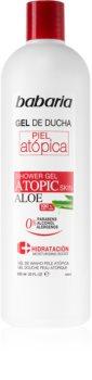 Babaria Aloe Vera gel de douche pour peaux atopiques