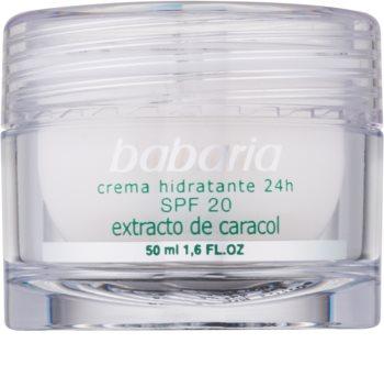 Babaria Extracto De Caracol crema idratante con estratto di bava di lumaca