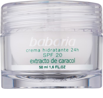 Babaria Extracto De Caracol Feuchtigkeitscreme mit Snail Extract