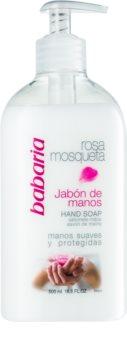 Babaria Rosa Mosqueta flüssige Seife für die Hände