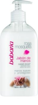 Babaria Rosa Mosqueta mydło do rąk w płynie