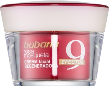 Babaria Rosa Mosqueta crema rigenerante viso antirughe