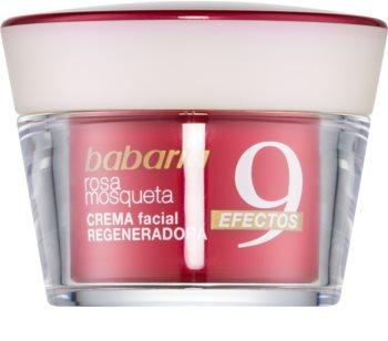 Babaria Rosa Mosqueta creme facial antirrugas regenerador