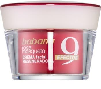 Babaria Rosa Mosqueta regenerierende Gesichtscreme gegen Falten