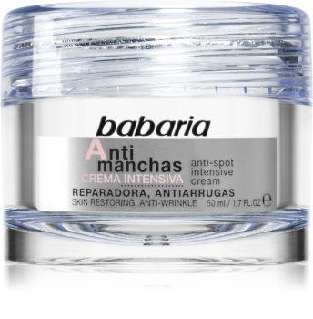 Babaria Anti Spot intensive Nachtcreme gegen Pigmentflecken