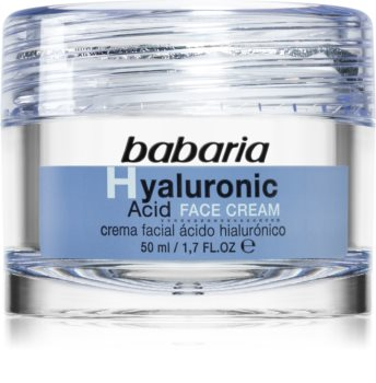 Babaria Hyaluronic Acid crème hydratante visage