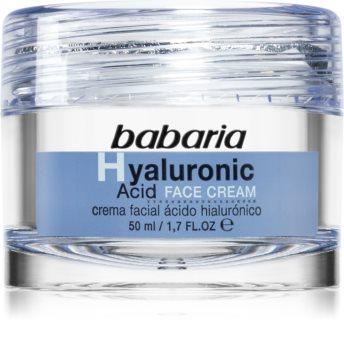 Babaria Hyaluronic Acid feuchtigkeitsspendende Gesichtscreme