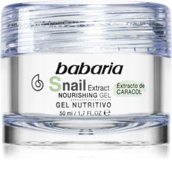 Babaria Snail Extract pleťový gel s vyživujícím účinkem