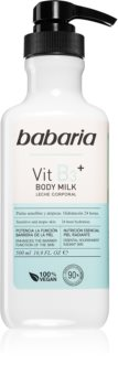 Babaria Vitamin B3 lait corporel hydratant et adoucissant pour tous types de peau