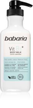 Babaria Vitamin B3 zjemňujúce hydratačné telové mlieko pre všetky typy pokožky