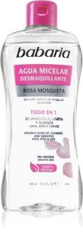 Babaria Rosa Mosqueta eau micellaire