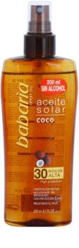 Babaria Sun Aceite Solar óleo solar SPF 30