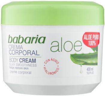 Babaria Aloe Vera κρέμα για το σώμα με αλόη βέρα