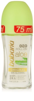 Babaria Aloe Vera desodorizante roll-on com aloe vera