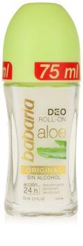 Babaria Aloe Vera Roll-On Deodorant  Med aloe vera