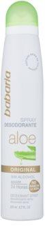 Babaria Aloe Vera deodorant ve spreji s aloe vera