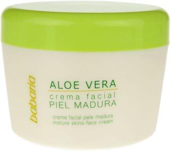 Babaria Aloe Vera Ansiktskräm för mogen hud