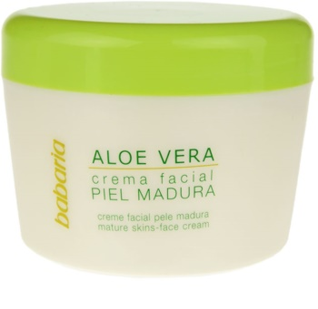 Babaria Aloe Vera crema viso per pelli mature