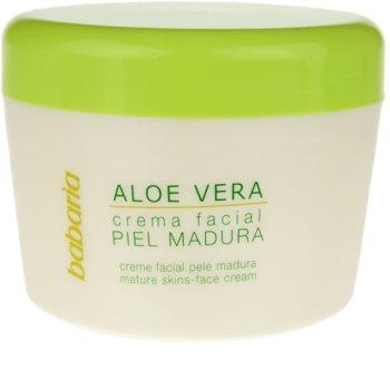 Babaria Aloe Vera Gezichtscrème  voor Rijpe Huid