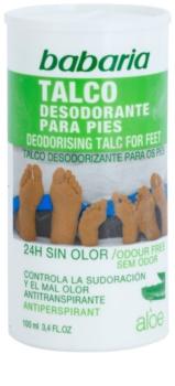 Babaria Aloe Vera Puder-Deodorant für die Füße