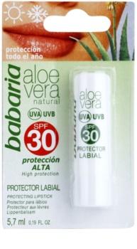 Babaria Aloe Vera baume à lèvres SPF 30