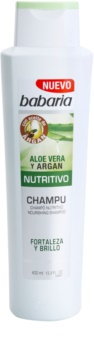 Babaria Aloe Vera champô nutritivo com aloe vera