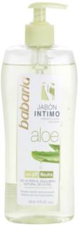 Babaria Aloe Vera gel de banho de higiene íntima para mulheres com aloe vera