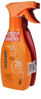 Babaria Sun Aqua Sun lote cosmético II.