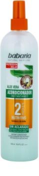 Babaria Argan Zwei-Phasen Conditioner mit Aloe Vera