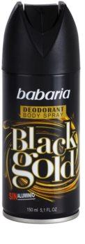 Babaria Black Gold deodorant ve spreji