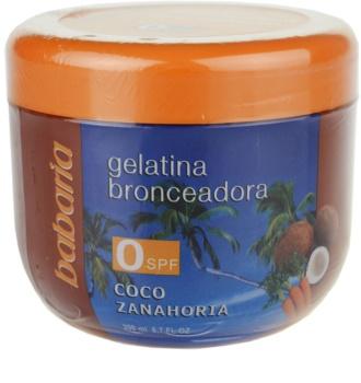 Babaria Sun Bronceadora гел за ускоряване на загара с кокос и морков