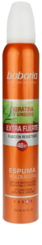 Babaria Ginseng Hair Mousse Extra Strong Hold