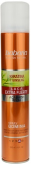 Babaria Ginseng laque cheveux fixation extra forte