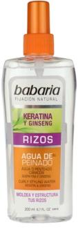 Babaria Ginseng Stylingspray För vågigt hår