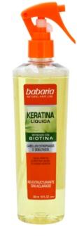 Babaria Liquid Keratin Hiuksiin Jätettävä Hoitoaine Keratiinin Kanssa