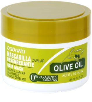 Babaria Olive Ravitseva Hiusnaamio Oliiviöljyn Kanssa