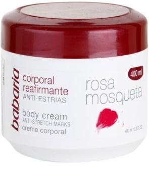 Babaria Rosa Mosqueta crème pour le corps raffermissante à l'extrait de rosier des chiens