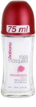 Babaria Rosa Mosqueta Roll-On Deodorant  Med extrakt av vildros