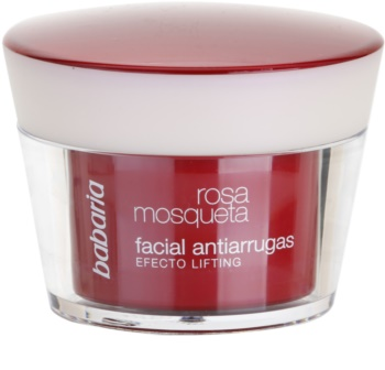 Babaria Rosa Mosqueta crema antiarrugas con efecto lifting