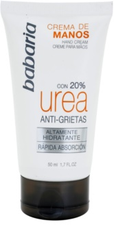 Babaria Urea crema de manos con efecto antiarrugas