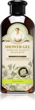 Babushka Agafia Moisturizing gel de duche hidratante preto