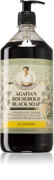 Babushka Agafia Agafia's Household Black Soap vloeibare universele zeep