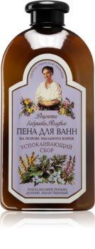Babushka Agafia Wild Sweet William & Sage espuma de banho relaxante