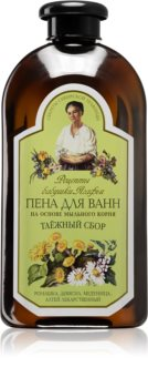 Babushka Agafia Bath Foam espuma de banho com camomilla
