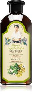 Babushka Agafia Honey & Linden шампунь для всех типов волос с медом