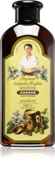 Babushka Agafia Beer pivní vlasový šampon pro muže